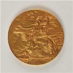 Athens 1906 Intercalated Summer Olympics Gilt Bronze Participation Medal