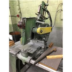 "16"" Dia. Wheel Double Traveling Head 5HP Mitering or Straight Cut Non Ferrous Saw *VIDEO AVAILABLE*"