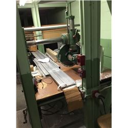 "PARKS 5HP 16"" Dia. Wheel Radial Arm Saw *VIDEO AVAILABLE*"