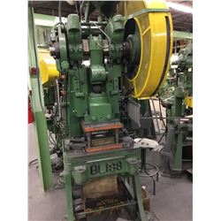 21S-M BLISS 45 Ton Mech Clutch OBI Power Press *VIDEO AVAILABLE*