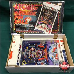 Atomic Arcade Pinball Game in Orig Box (Table Top Game)