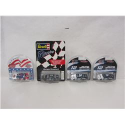 FOUR DIE CAST STOCK CARS