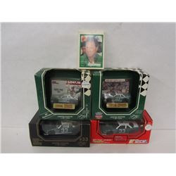 HARRY GANT DIE CAST CARS AND COLLECTOR CARDS