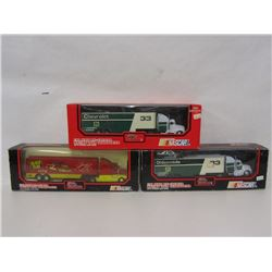 THREE HARRY GANT 1:64 SCALE TRANSPORTER REPLICAS