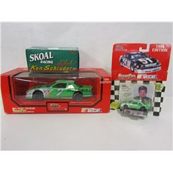 THREE DIE CAST STOCK CARS