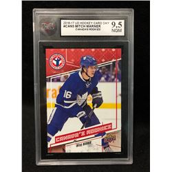 2016-17 UD HOCKEY CARD DAY #CAN5 MITCH MARNER CANADA'S ROOKIES (9.5 NGM)