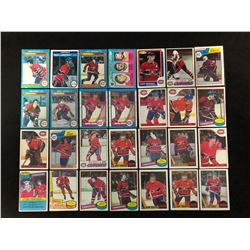 VINTAGE MONTREAL CANADIENS HOCKEY CARD LOT