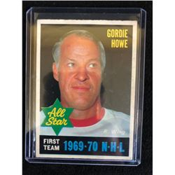 1970-71 O-PEE-CHEE #238 GORDIE HOWE ALL STAR