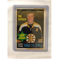 1970 O-PEE-CHEE #237 PHIL ESPOSITO ALL-STAR