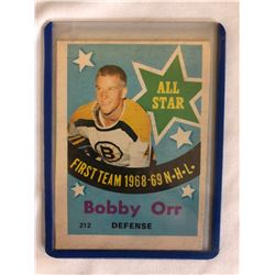1969-70 O-Pee-Chee #212 Bobby Orr Bruins All-Star