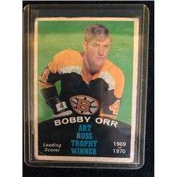 1970-71 OPC #249 Bobby Orr Art Ross Trophy Winner