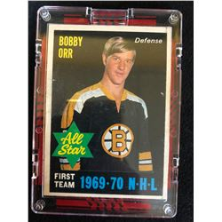 1970-71 OPC #236 BOBBY ORR ALL STAR CARD
