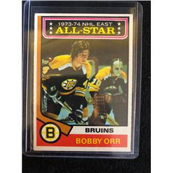 1974-75 Topps #130 1973-74 NHL East All-Star Bobby Orr