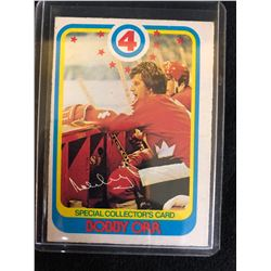 1978-79 O-Pee-Chee Bobby Orr Special Collectors Card #300