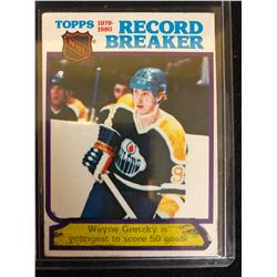 1980-81 O-Pee-Chee #3 Wayne Gretzky RB/Youngest Ever 50-goal Scorer