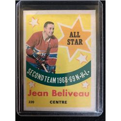 1969-70 Topps #220 Jean Beliveau All-Star