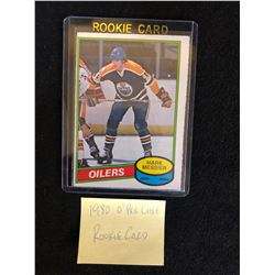 1980-81 O-PEE-CHEE #289 Mark Messier Rookie Card