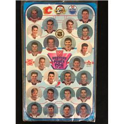 25TH ANNIVERSARY VANCOUVER CANUCKS POG SET ( UNPUNCHED)