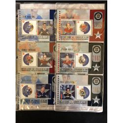 CANADA POST NHL ALL STAR GAME COLLECTOR STAMP SET
