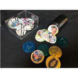 NHL POGS AND SLAMMERS LOT