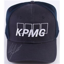 ecae14f7a11 Phil Mickelson Signed KPMG Fitted Hat (JSA COA)