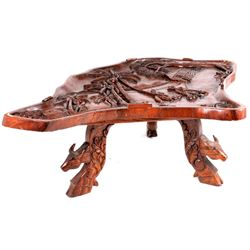 Hand Carved Vietnamese Coffee Table