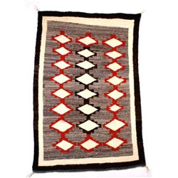 Early Old Crystal Navajo Trade Wool Rug