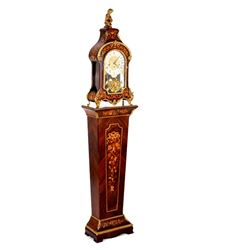 Beautiful Tiffany Boulle Clock And Pedestal