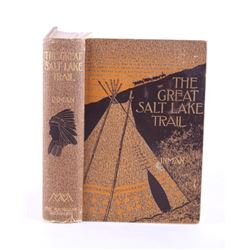 The Great Salt Lake Trail By Inman & Cody 1898