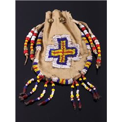 Plains Indian Beaded Medicine Pouch