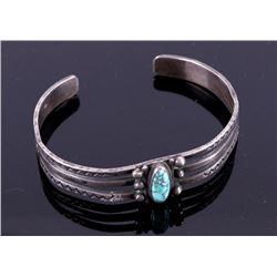 Route 66 Old Pawn Navajo Turquoise Bracelet