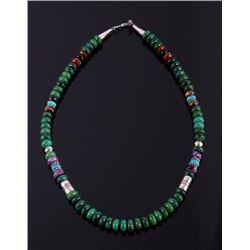 Navajo T Singer Multi Stone Necklace