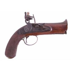 Antique Flintlock Brass Blunderbuss Pistol