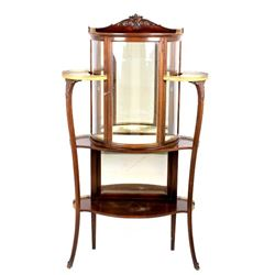 Ornate Victorian Glass Display Cabinet