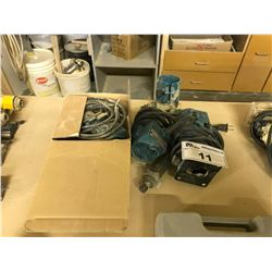 3 MAKITA HAND HELD TRIMMERS AND PARTS
