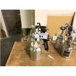 PAIR OF COMMERCIAL PAINT  SPRAY GUNS