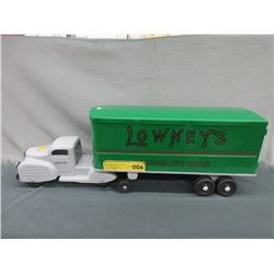 """1950s Lincoln 24"""" Lowney's Chocolate Bar Truck"""