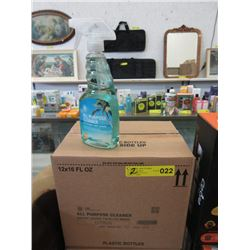 2 Cases of All Purpose Glass Cleaner