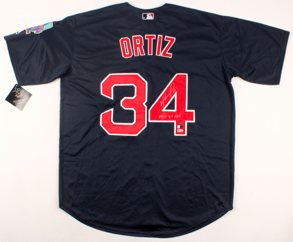 David Ortiz Signed Red Sox Jersey Inscribed