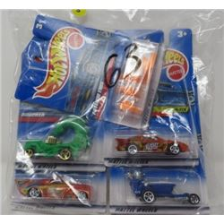 HOT WHEELS QTY 5