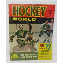 2 HOCKEY WORLD MAGAZINE, (FROM 1972)