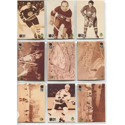 HOCKEY CARDS 2 SHEETS, (PRO SET), *TEAM FACTS*
