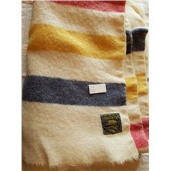 "4 POINT WHITNEY BLANKET (MADE IN ENGLAND), 64""X76"""