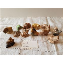 12 WADES ANIMAL FIGURINES