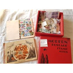 STAMPS & STAMP BOOKS