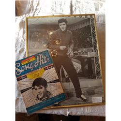 "ELVIS PICTURE (41""X51"") & SONGBOOK"