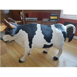 HOLSTEIN COW PAPER MACHE, *LIGHT BUT BEAUTIFUL*