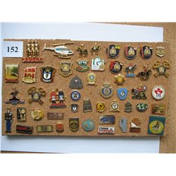 PINS (RCMP & OTHER POLICE RELATED) *LOT OF 50 DIFFERENT*