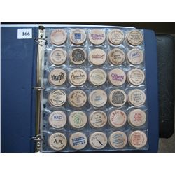 WOODEN NICKELS/TOKENS  - (LOT OF 60) - *MOSTLY DIFFERENT*