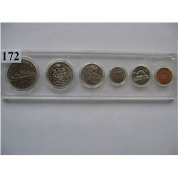 1976 CANADIAN COIN SET *W/HARD PLASTIC HOLDER*